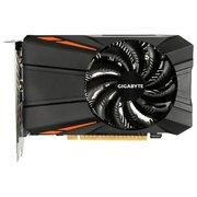 Видеокарта GIGABYTE GeForce GTX1050Ti (GV-N105TD5-4GD) 4GB 128bit GDDR5 (1290-1430/7008) DVI-D/HDMI 2.0b/DP 1.4
