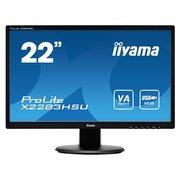 """Монитор Iiyama 21.5"""" X2283HSU-B1DP черный VA"""