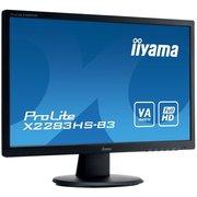 Монитор Iiyama X2283HS-B3 черный