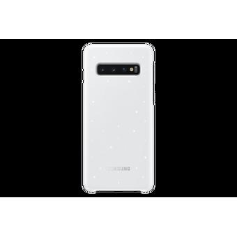 Чехол (клип-кейс) Samsung для Samsung Galaxy S10e LED Cover белый (EF-KG970CWEGRU)