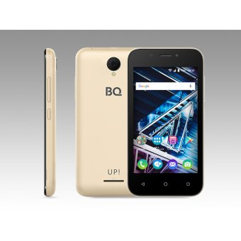 Смартфон BQ BQS-4028 UP золотой