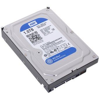 """HDD Western Digital WD Blue (WD10EZEX) 3.5"""" 1.0TB 7200rpm Sata3 64MB"""