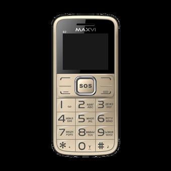 Мобильный телефон Maxvi B2 Gold
