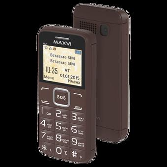 Мобильный телефон Maxvi B2 Coffe