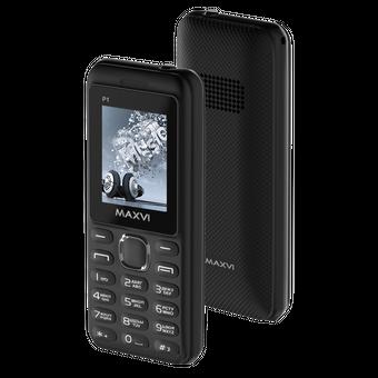 Мобильный телефон Maxvi P1 Black/Black