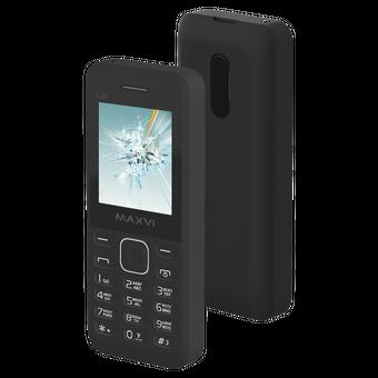 Мобильный телефон Maxvi C20 Black (без ЗУ)